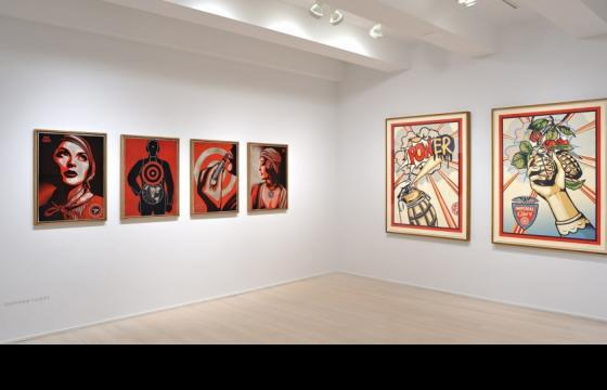 "Shepard Fairey ""Harmony & Discord"" @ Pace Prints, NYC"