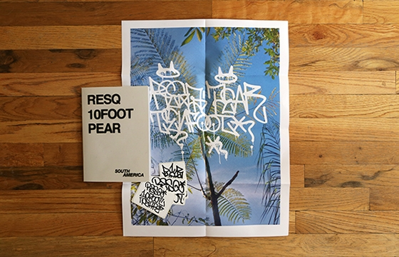 "A LOOK INSIDE ""South America - Resq, 10Foot, Pear"" ZINE"