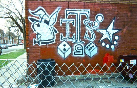 Chicago Gang Graff
