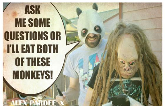 Alex Pardee Needs YOU to Ask HIM Questions