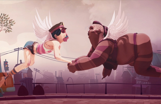 """Nirvana Police"" Animation by Tristan Cottin"