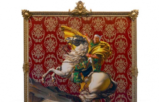 Jacques-Louis David Meets Kehinde Wiley @ Brooklyn Museum