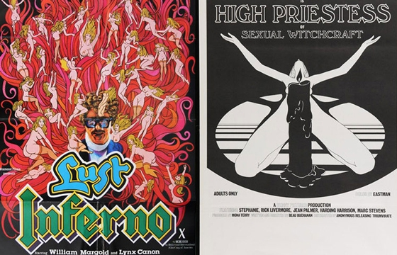 Vintage Film Posters From The Golden Age of XXX