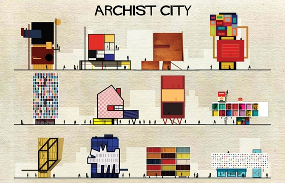 Buildings Inspired by Famous Works of Art
