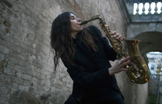 "PJ Harvey ""Recording in Progress"" @ Somerset House, London"
