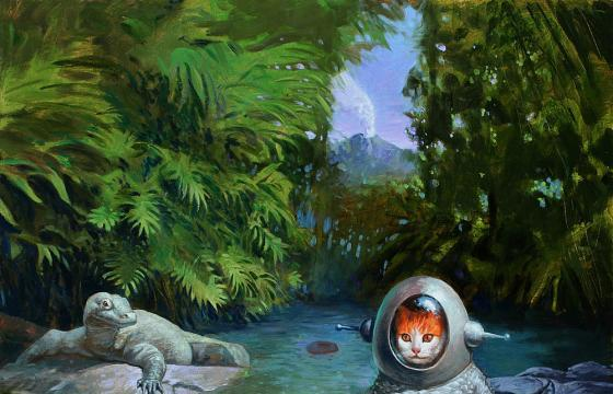 "Preview: Eric Joyner ""It's a Jungle Out There"" @ Corey Helford Gallery"