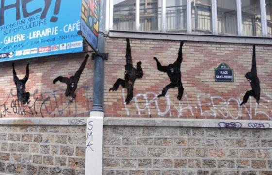 In Street Art: In the Swing of Things in Paris