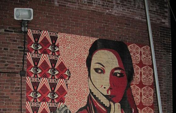 Shepard Fairey Hits Pittsburgh