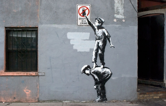 "Banksy Announces ""Better Out Than In,"" An Artists Residency on the Streets of NY"
