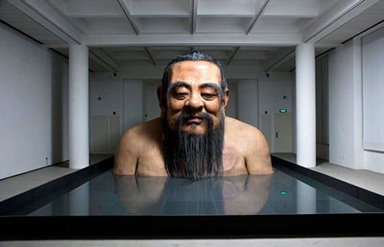 Sculptures by Zhang Huan