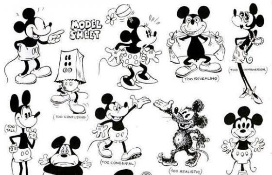 Alternate Mickeys by Ward Kimball