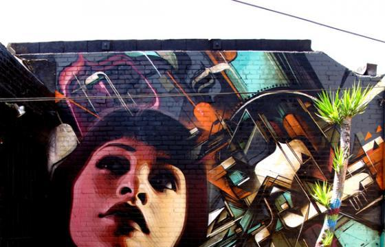 In Street Art: Kofie x El Mac Mural