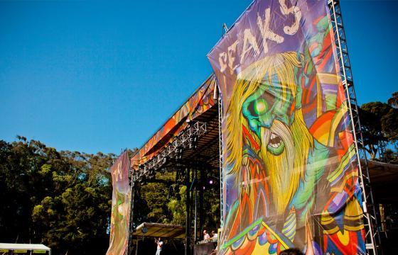 Juxtapoz For Outside Lands Music and Art Festival 2012