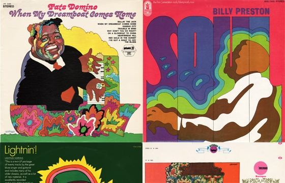 Celebrating Psychedelic and Pop Art in Album Covers