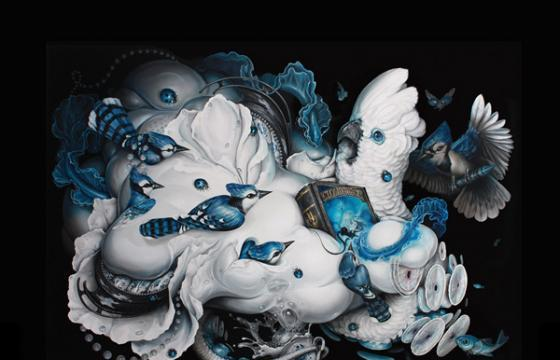 "Preview: Greg ""Craola"" Simkins ""Cloud Theory"" @ Merry Karnowsky, LA"