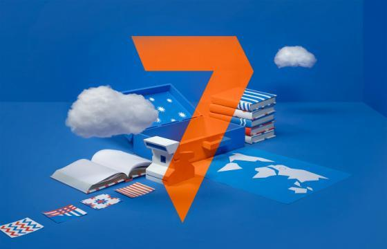 7TV Stop Motion Rebranding Video