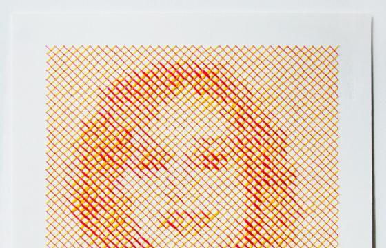 Cross-Stitched Portrait Project by Evelin Kasikov