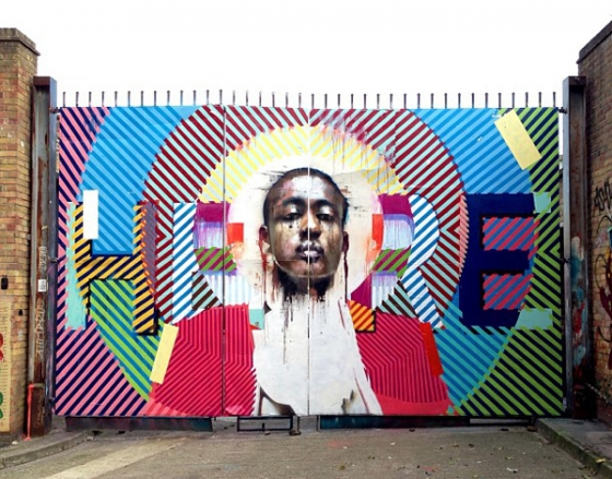 Conor Harrington & Maser collaboration in London, UK