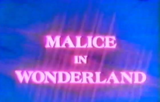 Malice In Wonderland by Vince Collins circa 1982