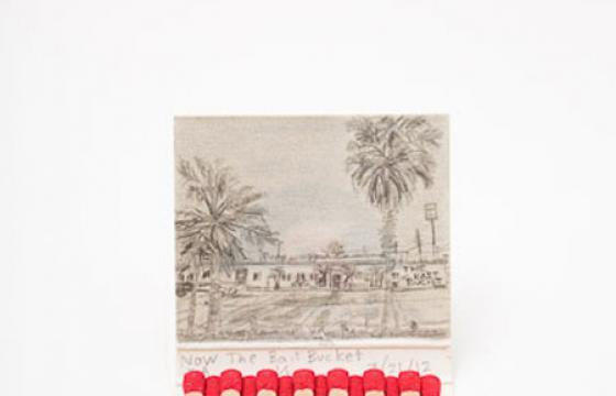 Matchbook Landscapes by Krista Charles