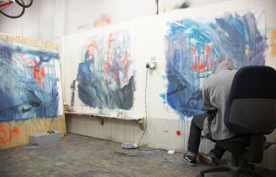 Studio Visit and Interview with Will Barras