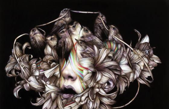 "Marco Mazzoni ""River of Milk"" @ Roq La Rue, Seattle"
