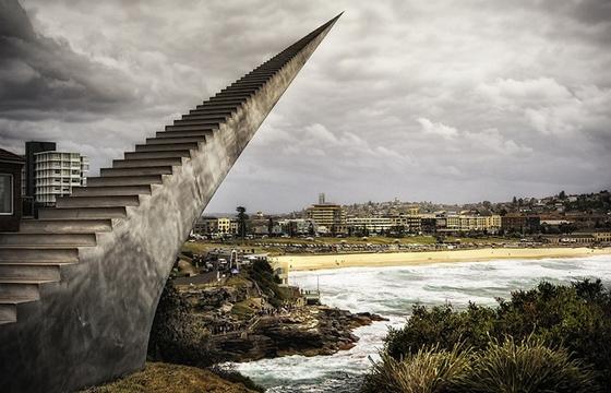 David McCracken's Never-Ending Staircase