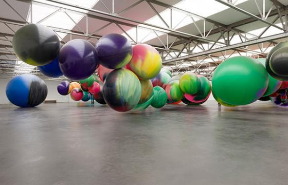 A Colorful New Show by Katharina Grosse @ De Pont Museum, Tilburg