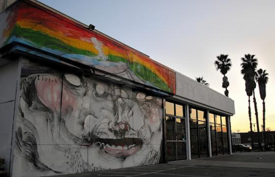 New Anthony Lister Mural in Culver City