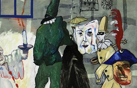 """Juxtapoz Magazine - Robert Falco Debuts """"Nightmares in the Break Room"""" @ pt.2 Gallery"""
