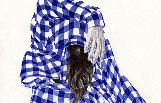 Ballpoint Illustrations by Chamo San