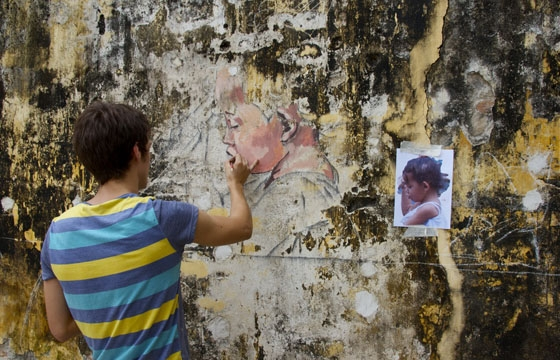 Ernest Zacharevic in Penang, Malaysia (Part 1)