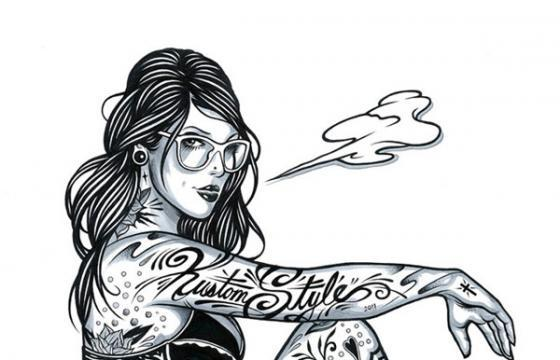Tattooed Girls by Adam Isaac Jackson