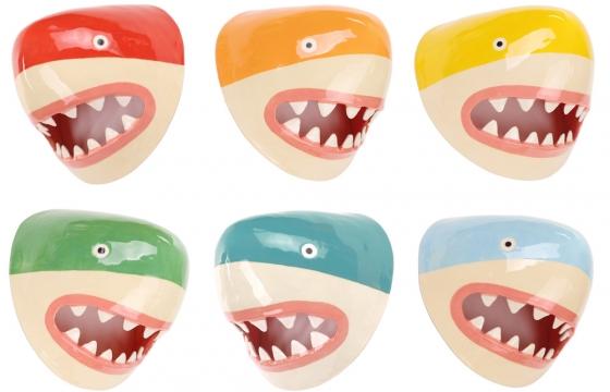 Sharks For Sale! Not Real Sharks. Lorien Stern's Delightful Ceramic Sharks