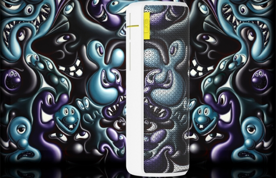 Giveaway: Kenny Scharf x UE Boom Wireless Speaker