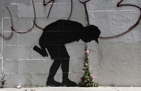 "Banksy: ""Better Out Than In"""