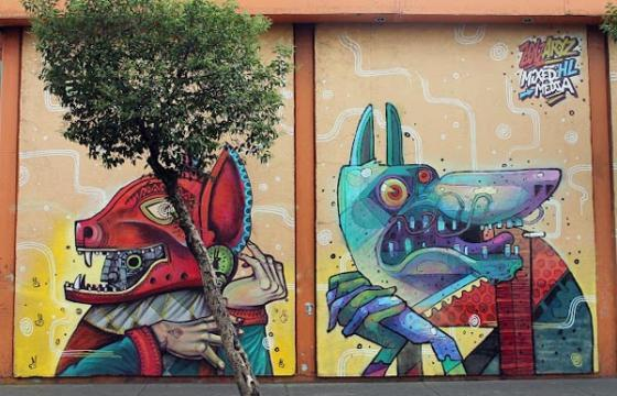 Aryz & Saner in Mexico City