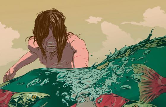Johnny Dombrowski Illustration