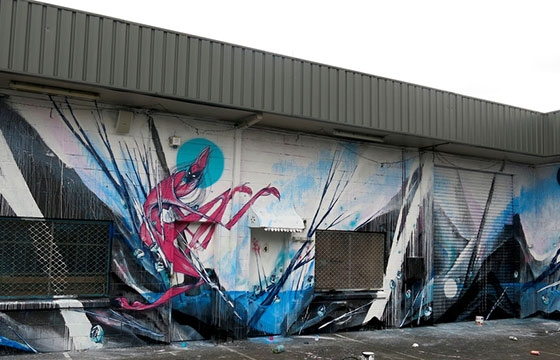 New Shida wall on the Gold Coast