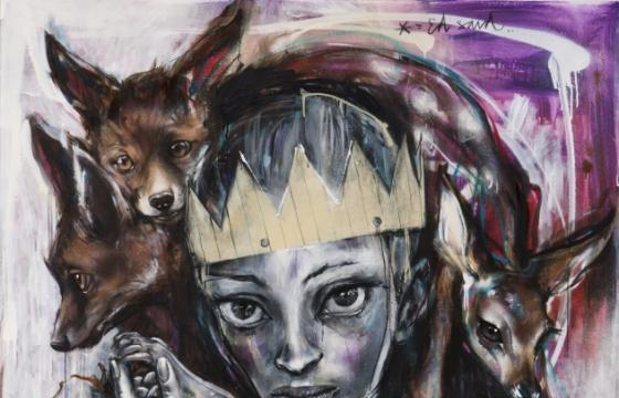 "Preview: Herakut ""Loving the Exiled"" @ 941 Geary, SF"