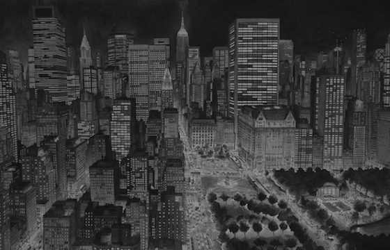 Stefan Bleekrode's Cityscapes are Drawn From Memory