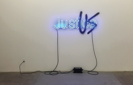 Manifest:Justice Pop-Up Exhibition in LA