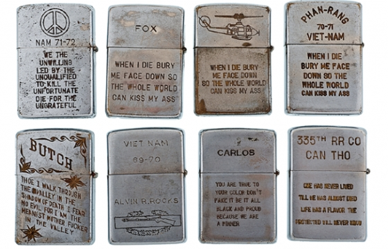 Vietnam War Zippo Lighters