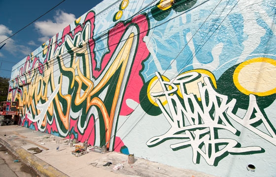 Recap: Making of Jonone's New Wall at Wynwood