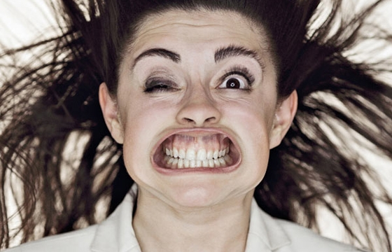 Gale Force Wind to the Face by Tadao Cern