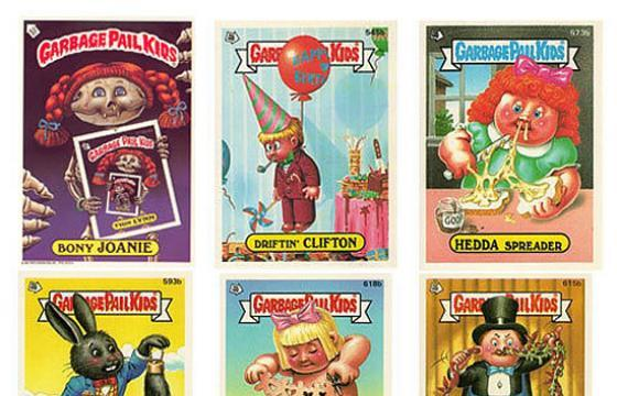 Our Favorite Garbage Pail Kids!