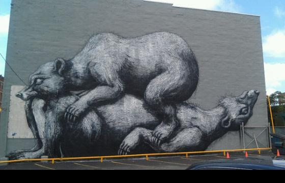 Roa @ Wall Therapy Festival