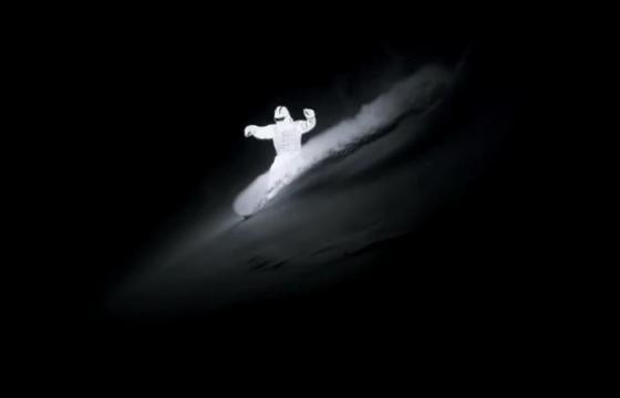 The LED Snow Surfer