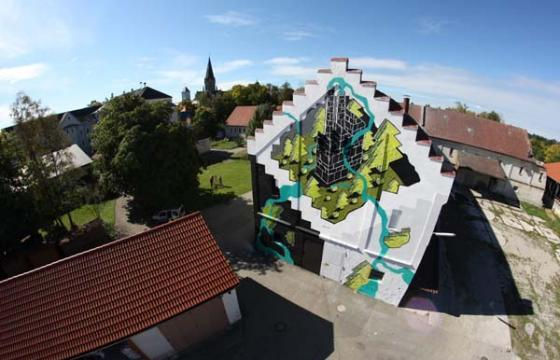 New M-City mural in Germany