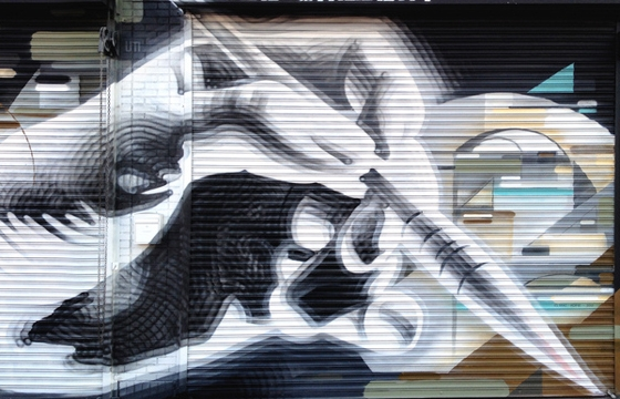 Kofie x The Mac mural in Los Angeles
